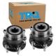 1ASHS00825-Wheel Bearing & Hub Assembly Rear Pair