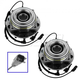 1ASHS00823-2011-12 Ford F450 Truck F550 Truck Wheel Bearing & Hub Assembly Front Pair