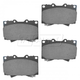 1ABPS00744-1998-07 Brake Pads Front