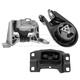 1AEEK00581-Mazda 3 Engine & Transmission Mount Kit