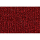 ZAICK25381-1992-99 Ford E150 Van Complete Carpet 4305-Oxblood