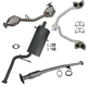 1AEMK00193-1999-02 Subaru Forester Complete Exhaust System with Converter
