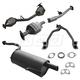 1AEMK00192-2002-04 Subaru Impreza Complete Exhaust System with Converter
