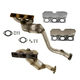1AEEK00351-BMW Exhaust Manifold with Catalytic Converter Assembly