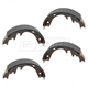 1ABPS00748-Ford Brake Shoes Rear  Nakamoto S582