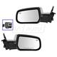 1AMRP01379-2013-17 Chevy Equinox GMC Terrain Mirror Pair