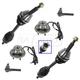 1ASFK01880-2002-05 Steering & Drivetrain Kit