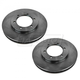1ABFS01779-Nissan Frontier Brake Rotor Pair