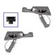 1AWRK01229-Chevy Equinox Pontiac Torrent Window Regulator Pair