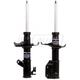 MNSSP00852-Mazda Protege Strut Assembly Front Pair  Monroe OESpectrum 71586  71587