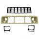 1ABGK00059-1997-01 Jeep Cherokee Grille  Header Panel & Headlight Trim Kit