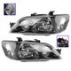 1ALHZ00041-2002-03 Mitsubishi Lancer Headlight Pair