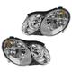 1ALHP01157-Mercedes Benz Headlight Pair