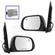 1AMRP01392-2013-17 Toyota Sienna Mirror Pair