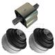 1AEEK00615-Mercedes Benz Engine & Transmission Mount Kit