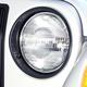 RRBMK00001-1997-06 Jeep Wrangler Headlight Bezel Pair