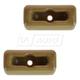 1AIMK00080-Mercedes Benz Sun Visor Support Clip Pair