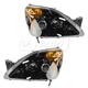 1ALHZ00044-2002-04 Honda CR-V Headlight Pair