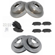 1ABFS01815-Dodge Nitro Jeep Liberty Brake Kit  Nakamoto MD1274  MD1273  52129250AA  52109938AB
