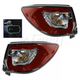 1ALTP00962-2013-17 Chevy Traverse Tail Light Pair