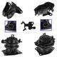 1AEEK00640-2005-06 Honda Odyssey Engine & Transmission Mount Kit