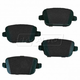 1ABPS00822-Land Rover LR2 Volvo S80 Brake Pads