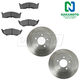 1ABFS01825-Brake Kit  Nakamoto CD730  5386