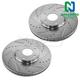 1APBR00021-Brake Rotor Pair  Nakamoto 31341-DSZ