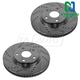 1APBR00012-Brake Rotor Pair