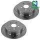 1APBR00042-Brake Rotor Rear Pair