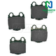 1ABPS02062-Lexus Brake Pads Rear