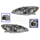 1ALHP01160-2005-06 Toyota Camry Headlight Pair