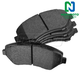 1ABPS02012-Brake Pads Front  Nakamoto MD1327