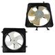 1ARFK00014-1999-01 Honda CR-V Radiator & A/C Condenser Cooling Fan Assembly Pair