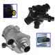 HEEEK00001-BMW Electric Water Pump & Thermostat Housing Kit  BEHR & Pierburg TM 14 97  7.02851.20.8