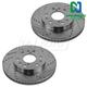 1APBR00008-Brake Rotor Pair