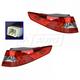 1ALTP00972-Kia Optima Tail Light Pair