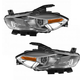 1ALHP01166-2013-16 Dodge Dart Headlight Pair