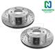 1APBR00073-Brake Rotor Pair  Nakamoto 54035-DSZ