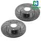 1APBR00068-Brake Rotor Pair  Nakamoto 31311-DSZ