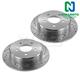 1APBR00072-Brake Rotor Rear Pair  Nakamoto 54032-DSZ