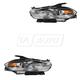 1ALHP01164-2013-16 Dodge Dart Headlight Pair