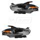 1ALHP01165-2013-16 Dodge Dart Headlight Pair
