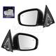 1AMRP01430-2013-18 Nissan Pathfinder Mirror Pair