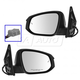 1AMRP01431-2013-15 Toyota Rav4 Mirror Pair