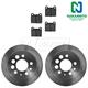 1ABFS01842-Volvo Brake Kit Rear  Nakamoto MD31  3489