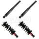 MNSSP00905-2004-14 Nissan Titan Shock & Strut Kit  Monroe Reflex 171358  37252