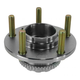 1ASHR00269-Hyundai Tiburon Wheel Bearing & Hub Assembly