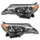 1ALHP01169-2013-15 Toyota Rav4 Headlight Pair