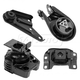 1AEEK00669-Mazda 3 Engine & Transmission Mount Kit